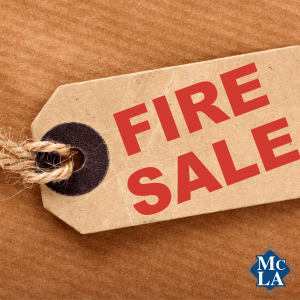 Host a fire sale amid COVID-19
