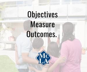 Objectives Measure Outcomes - McCormick L.A.